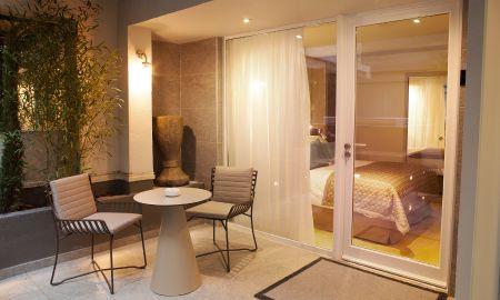 Chambre Supérieure Vue Jardin - Hotel La Lanterne - Paris