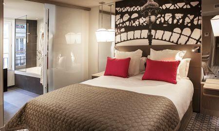 Chambre Supérieure - Vue Jardin - Hotel La Lanterne - Paris