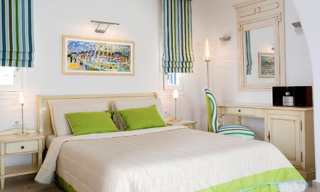 Junior Suite - Pool View - Arte & Mare Elia Suites & Spa - Mykonos