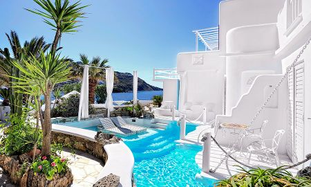 Two Bedroom Royal Suite with Private Pool - Kivotos - Mykonos