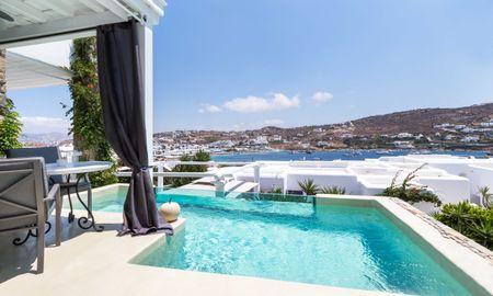 Suite - Private Pool - Kivotos Mykonos - Mykonos