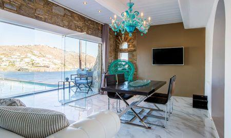 Deluxe Suite - Private Pool & Sea View - Kivotos Mykonos - Mykonos