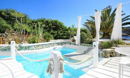 Royal Suite Two Bedroom - Sea View & Private Pool - Kivotos Mykonos - Mykonos