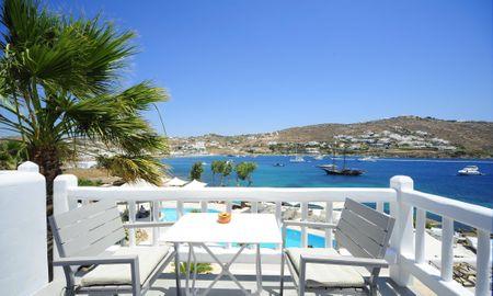Junior Suite - Sea View - Kivotos Mykonos - Mykonos
