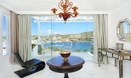 Deluxe Suite - Sea View - Kivotos Mykonos - Mykonos