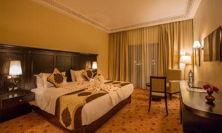 Chambre Supérieure Double - Vue Jardin - Hotel Riad Ennakhil & SPA - Marrakech