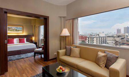 Plaza Suite - Stadtblick - Ramada Plaza Bangkok Menam Riverside - Bangkok