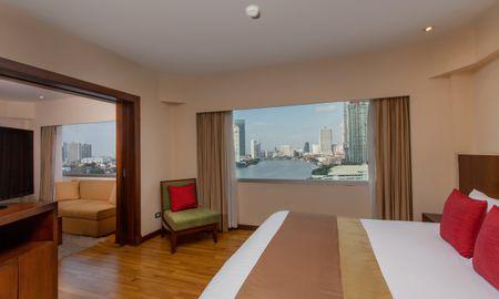 Plaza Suite - Flussblick - Ramada Plaza Bangkok Menam Riverside - Bangkok