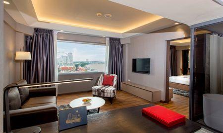 Premier Suite - Flussblick - Ramada Plaza Bangkok Menam Riverside - Bangkok