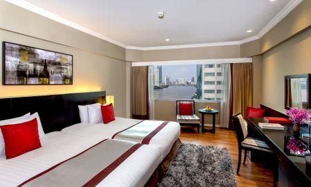 Deluxe Zimmer - Flussblick - Ramada Plaza Bangkok Menam Riverside - Bangkok