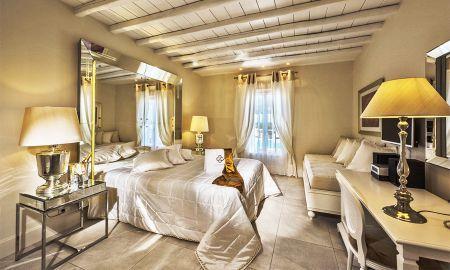 Suite Zwei Schlafzimmer mit Pool - La Residence Mykonos Hotel Suites - Mykonos
