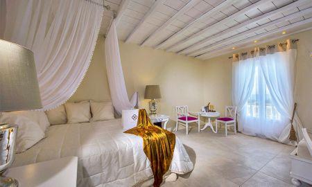 Люкс с видом на море - La Residence Mykonos Hotel Suites - Mykonos