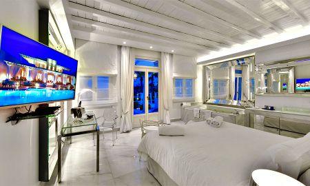 Люкс - общий бассейн - La Residence Mykonos Hotel Suites - Mykonos