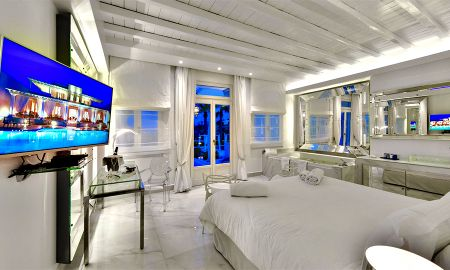 Suite - Pool in Gemeinschaftsnutzung - La Residence Mykonos Hotel Suites - Mykonos