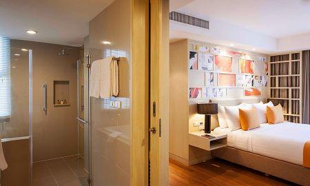 Угловой люкс с 1 спальней - Amari Residences Bangkok - Bangkok