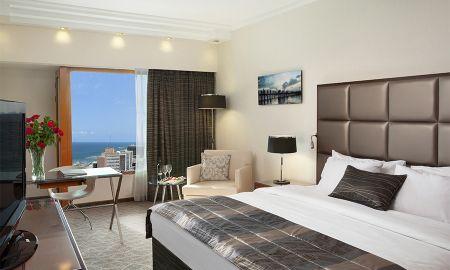Premium Zimmer mit halbem Meerblick - Carlton Tel Aviv - Tel Aviv