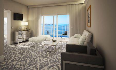 Suite Luxury avec Vue Mer et balcon - Royal Palm Hotel - Dubrovnik