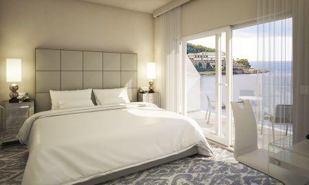 Chambre Luxe Double ou Twin avec Vue Mer et balcon - Royal Palm Hotel - Dubrovnik