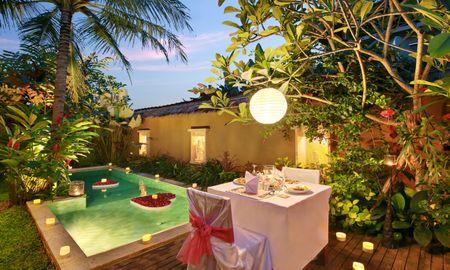 Oferta por reserva anticipada en la villa de la piscina de lujo con desayuno flotante - Ubud Nyuh Bali Resort & Spa - Bali
