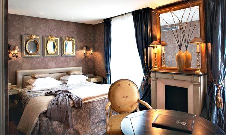 Chambre Deluxe Individuelle - Hôtel Chateaubriand - Paris