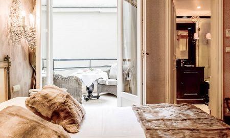 Chambre Classique Individuelle - Hôtel Chateaubriand - Paris