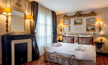 Chambre Deluxe Double - Hôtel Chateaubriand - Paris