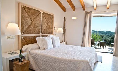 Junior Suite mit Terrasse - Cases De Son Barbassa - Balearische Inseln