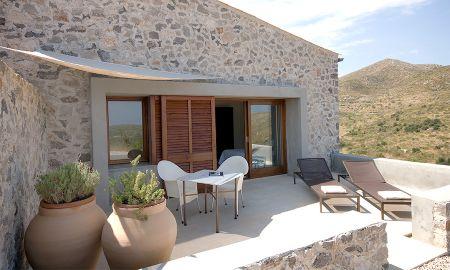 Superior Doppelzimmer mit Dalt Terrasse - Cases De Son Barbassa - Balearische Inseln