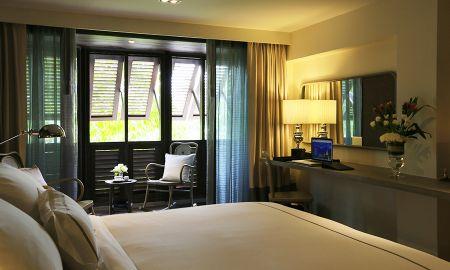Стандартный двухместный номер с 1 кроватью или 2 отдельными кроватями и видом на город - Riva Surya Bangkok - Bangkok