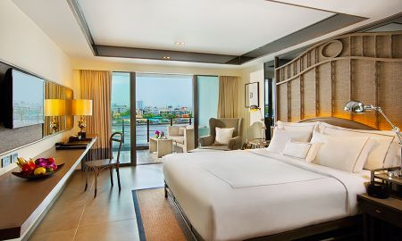 Люкс двухместный или с двумя кроватями с река - Riva Surya Bangkok - Bangkok