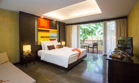 Chambre Deluxe Double ou Twin avec Balcon - New Star Beach Resort - Koh Samui
