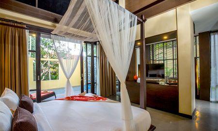 Villa avec une Chambre avec Piscine Privée - New Star Beach Resort - Koh Samui