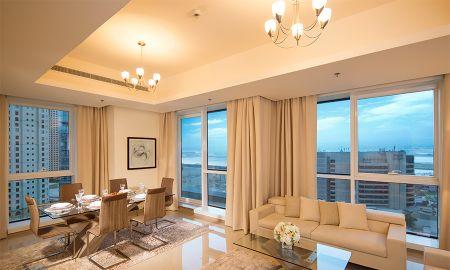 Appartement Deux Chambres - Barceló Residences Dubai Marina - Dubai
