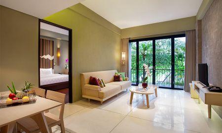 Poolvilla mit 2 Schlafzimmern und Whirlpool - Wyndham Dreamland Resort Bali - Bali