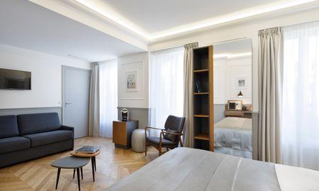 Suite Junior - Balcon - Hôtel Petit Lafayette - Paris