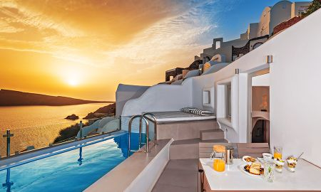 Suite Premier con Piscina Privada - Vista a la Caldera - Elite Luxury Suites - Adults Only - Santorini