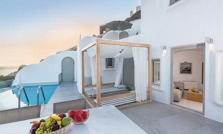 Suite Presidencial con Piscina Privada - Vista a la Caldera - Elite Luxury Suites - Adults Only - Santorini