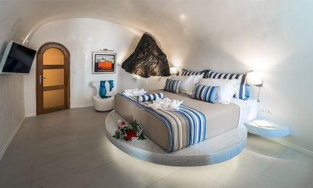 Grand Suite con Piscina Privada - Vista a la Caldera - Elite Luxury Suites - Adults Only - Santorini