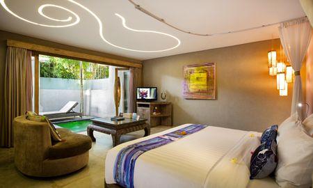 Chambre Supérieur avec Piscine - Blue Karma Hotel Seminyak - Bali