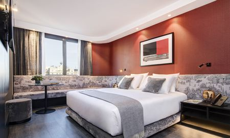 Chambre Deluxe King - Vue Ville - The Pavilions Madrid Hotel - Madrid