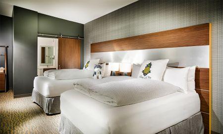 Z Double Queen Suite - Hotel Z - San Diego