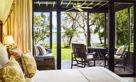 Chambre d'Angle Deluxe - Royal Livingstone Victoria Falls Zambia Hotel By Anantara - Livingstone