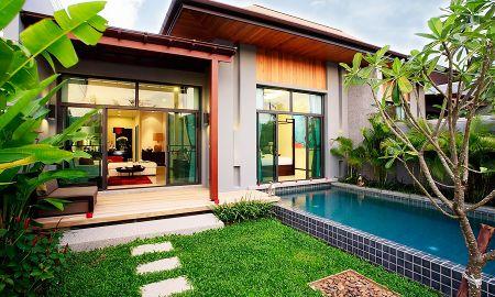 Villa due Camere con Piscina Privata - Two Villas Holiday Phuket: Onyx Style Nai Harn Beach - Phuket