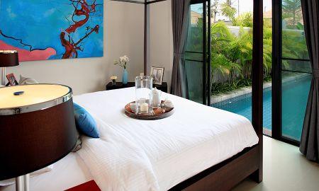 Villa Una Camera con Piscina Privata - Two Villas Holiday Phuket: Onyx Style Nai Harn Beach - Phuket