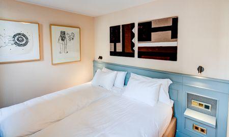 Quarto Duplo Pequeno - Hotel Mercier - Amsterdã