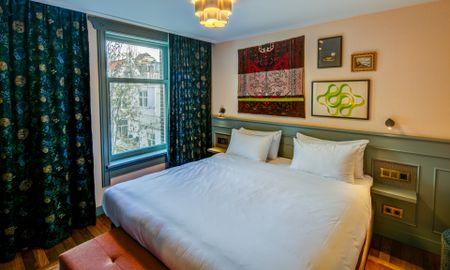 Quarto Deluxe - Hotel Mercier - Amsterdã