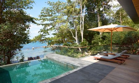 Ocean Front Pool Villa Suite - Six Senses Krabey Island - Krabey Island