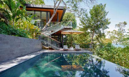 Ocean Front Two Bedroom Pool Villa - Six Senses Krabey Island - Krabey Island
