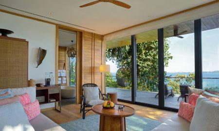 Вилла с 2 спальнями и бассейном с видом на океан - Six Senses Krabey Island - Krabey Island