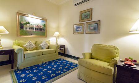 Premium Temptation Suite Garden View Double Bed - Vivanta Sawai Madhopur Lodge - Rajasthan